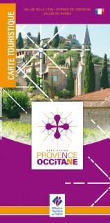 Carte touristique Provence Occitane 2019