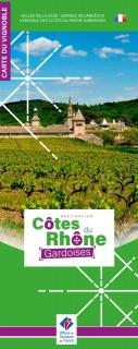 Carte Côtes du Rhône Gardoises