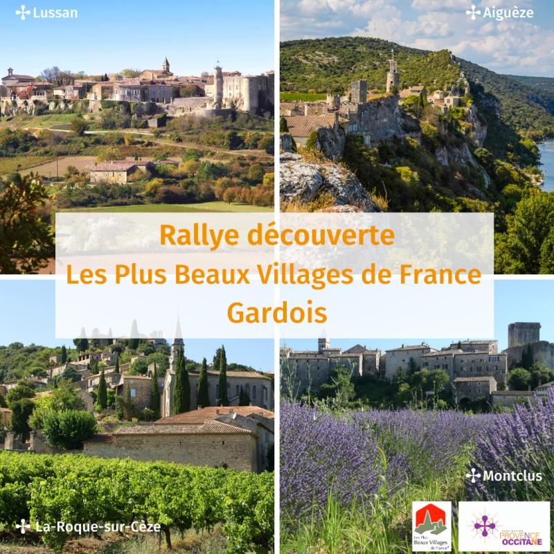 Rallye des Plus Beaux Villages de France Gardois