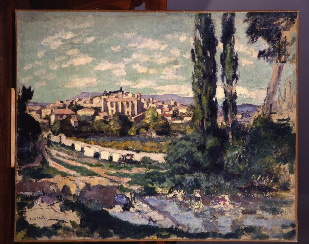 copie-de-albert-andre-les-laveuses-au-bord-de-la-tave-a-laudun-1912-157