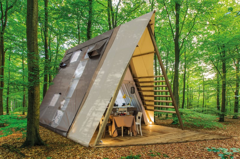 Camping Les Cascades - Victoria Lodge, Glamping