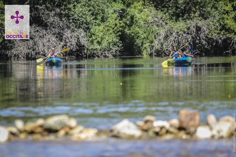 Canoe en Provence Occitane