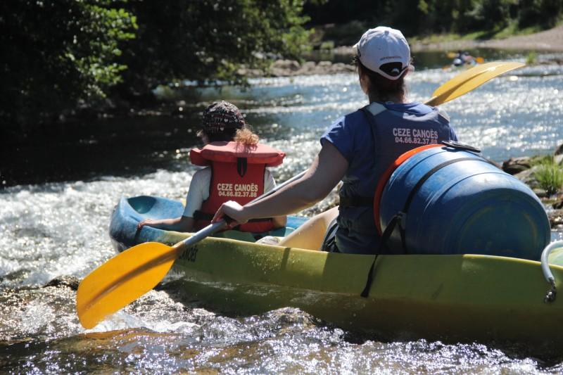 Ceze canoe famille