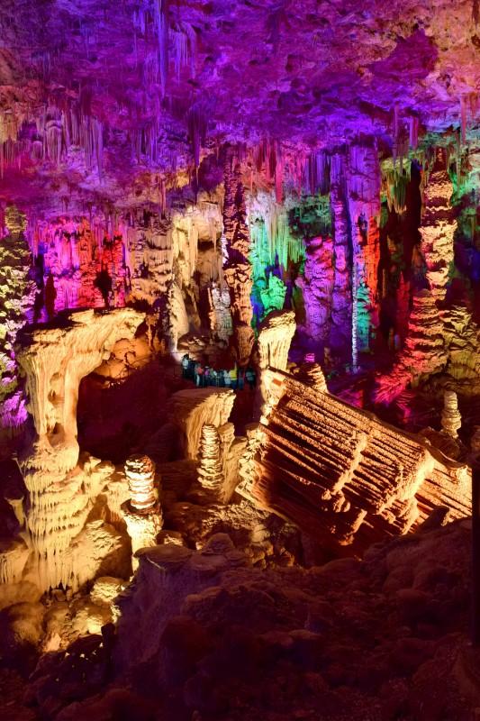 Grotte de la Salamandre couleurs
