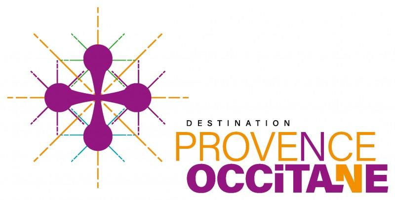 Logo Provence Occitane horizontale marge blanc RVB
