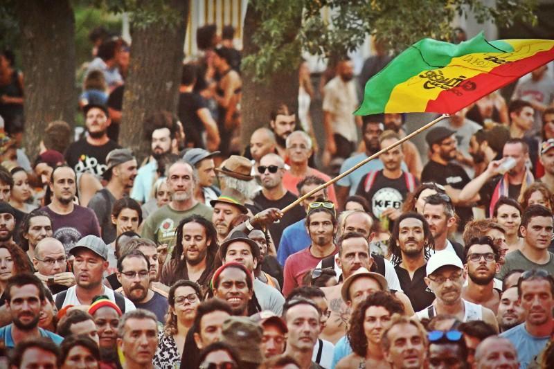 Public du Bagnols Reggae Festial - Credit Photo M. Anisset