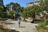 Ruines du Castellas de St Victor la coste