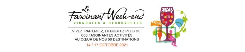 Bandeau du facsinant week end en Côtes du Rhône gardoises